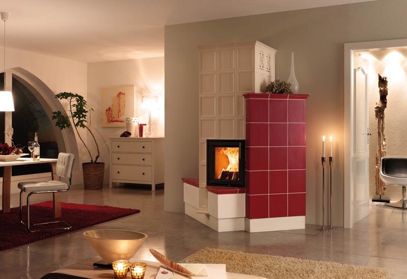 kachelofen grundofen kombiofen integriertes. Black Bedroom Furniture Sets. Home Design Ideas